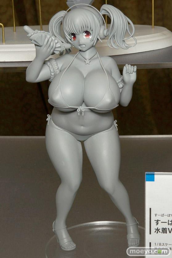 すーぱーぽちゃ子 水着Ver. フリーイング 画像 サンプル レビュー フィギュア 宮沢模型 第35回 商売繁盛セール 01