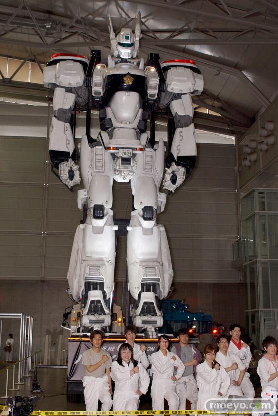 ニコニコ超会議2015 画像 パトレイバー 実物大 98式AVイングラム 超ロボットエリア 03