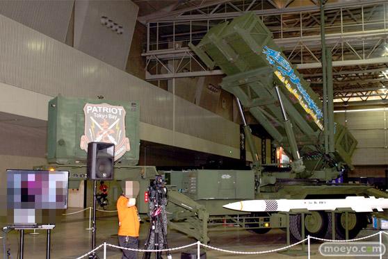 ニコニコ超会議2015 画像 自衛隊 地対空誘導弾 ペトリオットシステム発射機 01