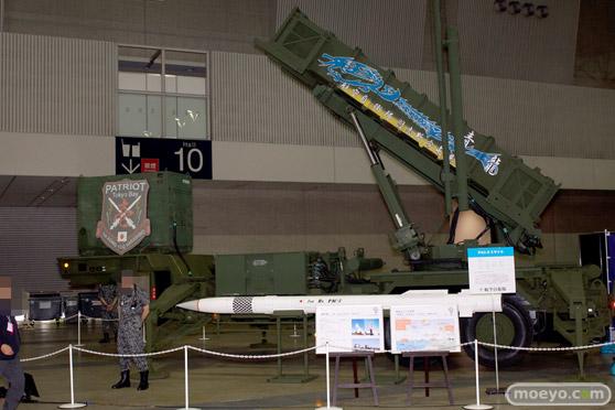 ニコニコ超会議2015 画像 自衛隊 地対空誘導弾 ペトリオットシステム発射機 02