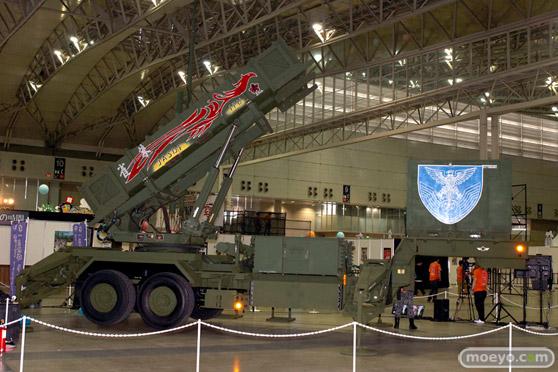ニコニコ超会議2015 画像 自衛隊 地対空誘導弾 ペトリオットシステム発射機 03