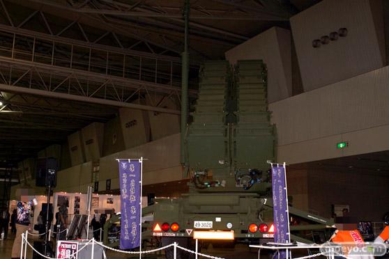 ニコニコ超会議2015 画像 自衛隊 地対空誘導弾 ペトリオットシステム発射機 04