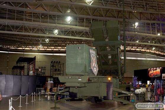 ニコニコ超会議2015 画像 自衛隊 地対空誘導弾 ペトリオットシステム発射機 05