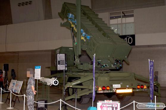 ニコニコ超会議2015 画像 自衛隊 地対空誘導弾 ペトリオットシステム発射機 17