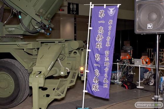 ニコニコ超会議2015 画像 自衛隊 地対空誘導弾 ペトリオットシステム発射機 18