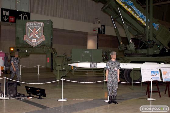ニコニコ超会議2015 画像 自衛隊 地対空誘導弾 ペトリオットシステム発射機 19