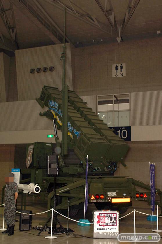 ニコニコ超会議2015 画像 自衛隊 地対空誘導弾 ペトリオットシステム発射機 20