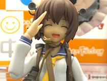 マックスファクトリー「figma 艦隊これくしょん-艦これ- 雪風」 可愛い笑顔の敬礼ポーズで彩色サンプルが展示!