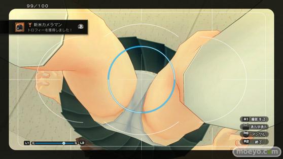 夏色ハイスクル青春白書 PS4 ゲーム 画像 パンツ ローアングル エロ D3 05