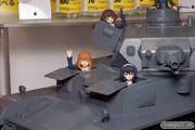 AKIBA模型フェア マックスファクトリー 島風 figma Vehicles ガールズ&パンツァー 1/12 IV号戦車D型 本戦仕様 ネーネ 画像 サンプル レビュー フィギュア プラモデル 06