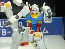 【TTS2015】旧版との比較展示も!バンダイ「HGUC 1/144 RX-78-2 ガンダム」 新作プラモデル彩色サンプル画像レビュー