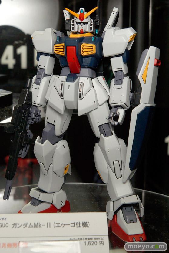HGUC ガンダムMk-II(エゥーゴ仕様) バンダイ 画像 サンプル レビュー プラモデル 東京おもちゃショー2015 01