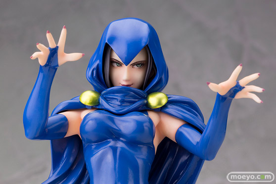 DC COMICS美少女 DC UNIVERSE レイブン コトブキヤ 画像 サンプル レビュー フィギュア ホガリー 08