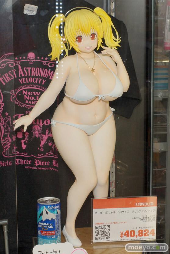 コトブキヤ秋葉原館 展示 画像 フィギュア サンプル レビュー 白 パンツ ぽちゃ子 タカオ 05