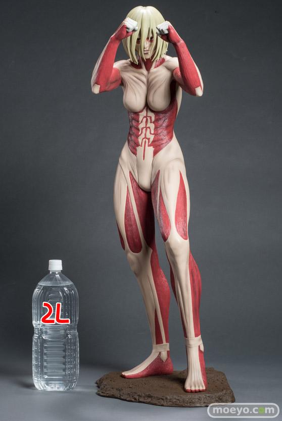 進撃の巨人 女型の巨人 ポリレジンフィギュア 90cm級 A-TOYS 画像 サンプル レビュー フィギュア 温泉天国/K 12