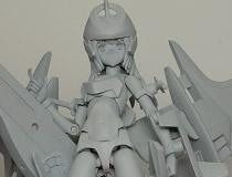 【WF2015夏】コトブキヤ「1/1 スケール 武装神姫 アーンヴァル」 新作プラモデル原型サンプル画像レビュー