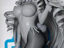 【WF2015夏】フリーイング「IS<インフィニット・ストラトス> セシリア・オルコット バニーVer.2.0」 新作フィギュア原型画像レビュー