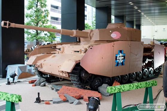 ガールズ&パンツァー ファンイベント IV号戦車日本上陸作戦です! 秋葉原 ベルサール 実物大 戦車 03