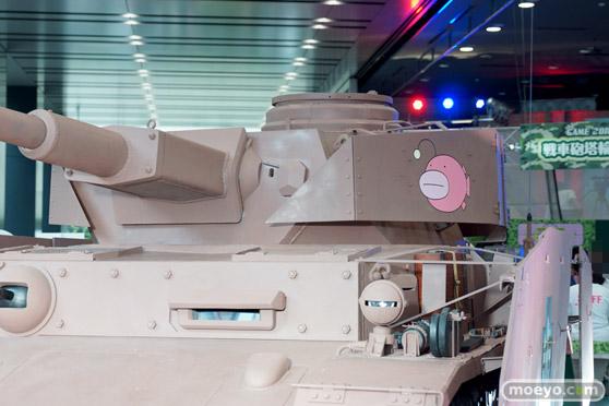 ガールズ&パンツァー ファンイベント IV号戦車日本上陸作戦です! 秋葉原 ベルサール 実物大 戦車 05