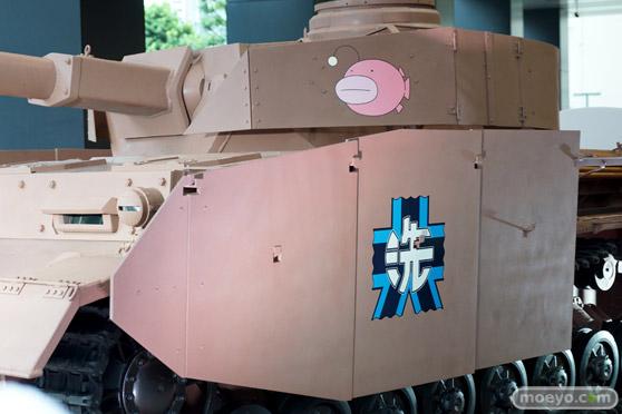 ガールズ&パンツァー ファンイベント IV号戦車日本上陸作戦です! 秋葉原 ベルサール 実物大 戦車 08