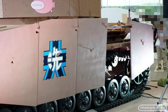 ガールズ&パンツァー ファンイベント IV号戦車日本上陸作戦です! 秋葉原 ベルサール 実物大 戦車 09