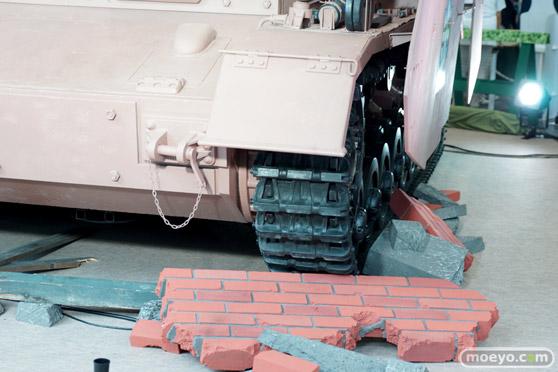 ガールズ&パンツァー ファンイベント IV号戦車日本上陸作戦です! 秋葉原 ベルサール 実物大 戦車 10