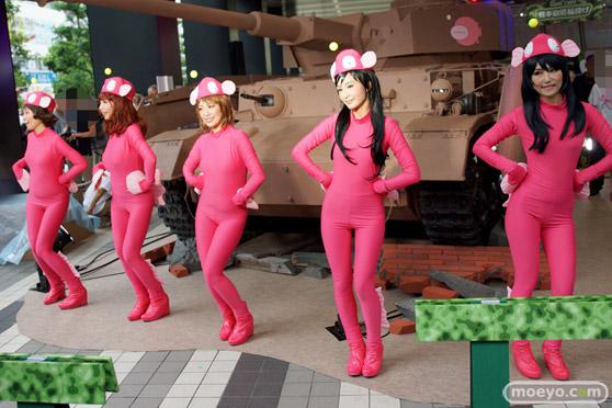 ガールズ&パンツァー ファンイベント IV号戦車日本上陸作戦です! 秋葉原 ベルサール 実物大 戦車 13