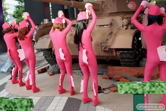ガールズ&パンツァー ファンイベント IV号戦車日本上陸作戦です! 秋葉原 ベルサール 実物大 戦車 14