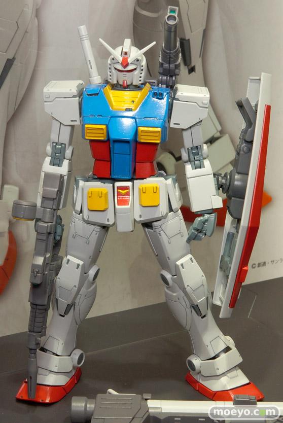 キャラホビ2015 画像 サンプル レビュー プラモデル ガンダム MG 1/100 RX-78 ガンダム バンダイ オリジン 01