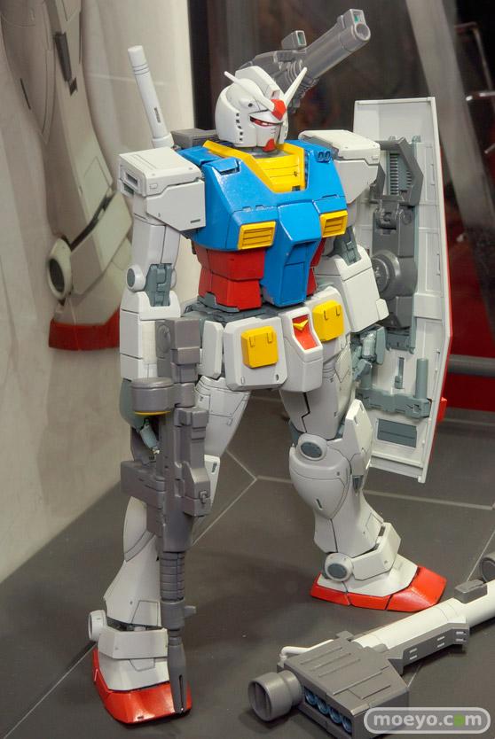 キャラホビ2015 画像 サンプル レビュー プラモデル ガンダム MG 1/100 RX-78 ガンダム バンダイ オリジン 02