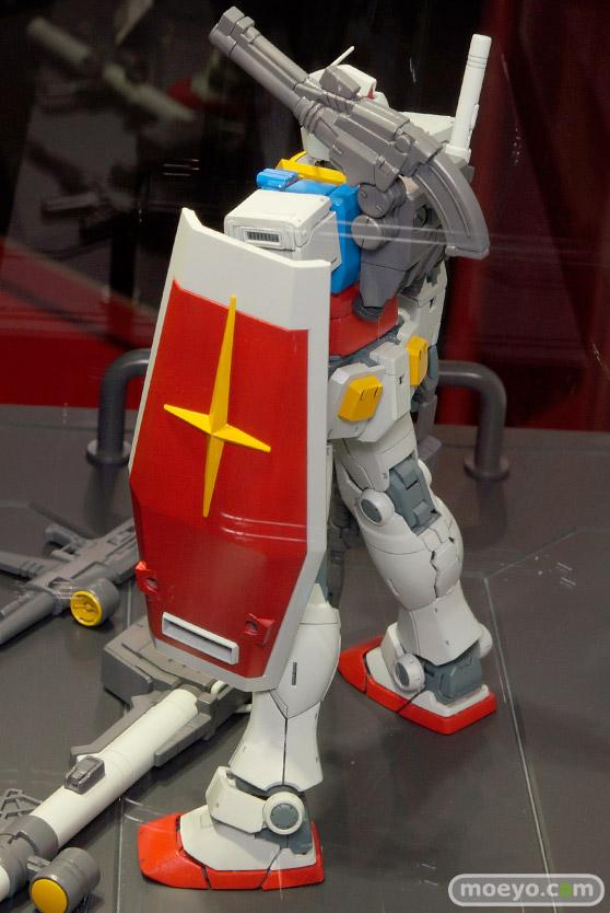 キャラホビ2015 画像 サンプル レビュー プラモデル ガンダム MG 1/100 RX-78 ガンダム バンダイ オリジン 04