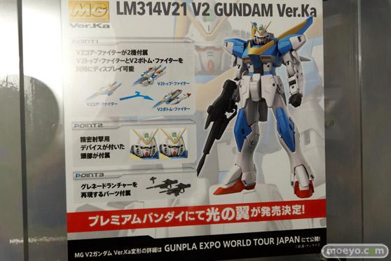 MG 1/100 V2ガンダム Ver.Ka バンダイ 画像 サンプル レビュー プラモデル 第55回 全日本模型ホビーショー 10