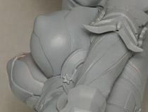 ヴェルテクス「セブンスドラゴンIII code:VFD ルーンナイト(ウーリェ)」新作フィギュア無彩色サンプル画像レビュー