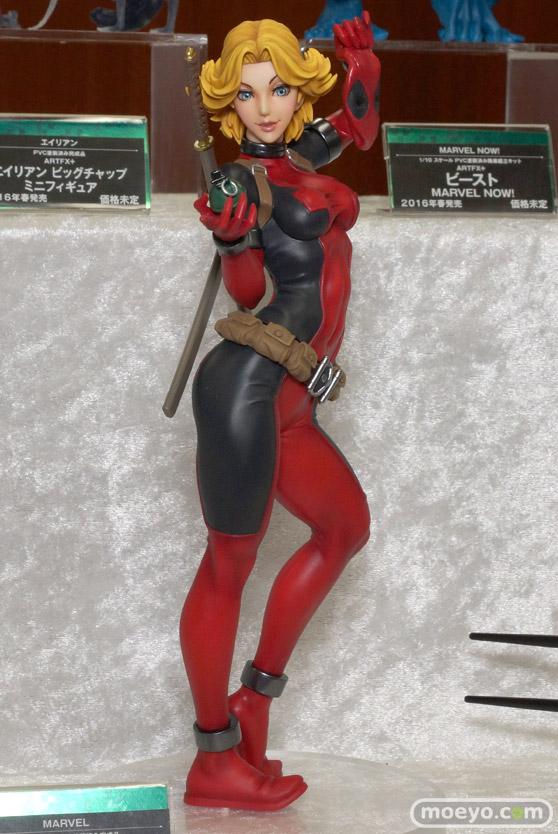 コトブキヤのMARVEL美少女 MARVEL UNIVERSE レディ・デッドプールのフィギュアサンプル画像01