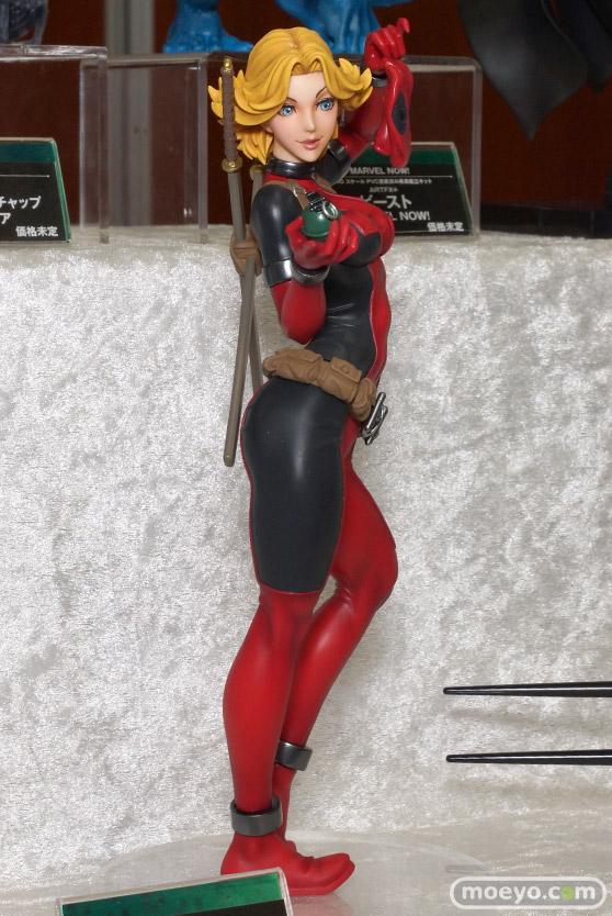 コトブキヤのMARVEL美少女 MARVEL UNIVERSE レディ・デッドプールのフィギュアサンプル画像02