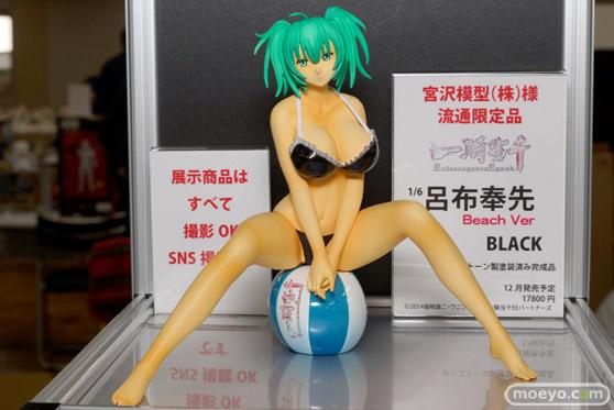 アイズ・プロジェクトの一騎当千 Extravaganza Epoch 呂布奉先 Beach Ver. ブラック(宮沢模型流通限定品)のフィギュアサンプル画像01