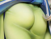 和服越しの美尻!アルター新作フィギュア「朧村正 弓弦葉」の彩色サンプル【メガホビ2015秋】