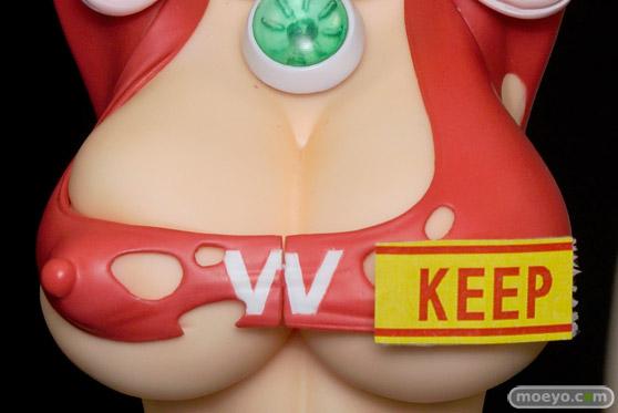 2016冬ホビーメーカー合同商品展示会のDRAGON Toyのねとられ乳ヒロイン 愛妻戦士マイティ・ワイフ 朝日奈マリーの新作フィギュアサンプル画像09