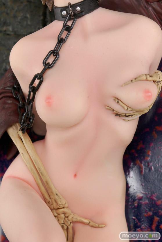 矢沢俊吾オリジナルフィギュアシリーズ ヘル・セデューサー 「囚われの花」Ver. ブラウンヘアーの新作フィギュア彩色サンプル画像08