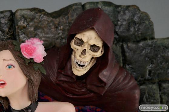 矢沢俊吾オリジナルフィギュアシリーズ ヘル・セデューサー 「囚われの花」Ver. ブラウンヘアーの新作フィギュア彩色サンプル画像11
