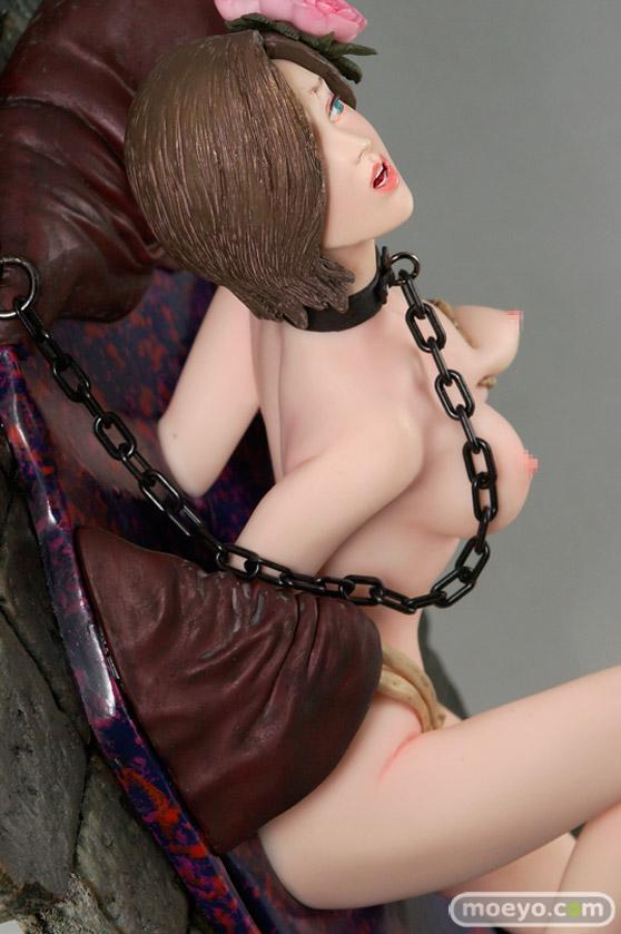 矢沢俊吾オリジナルフィギュアシリーズ ヘル・セデューサー 「囚われの花」Ver. ブラウンヘアーの新作フィギュア彩色サンプル画像17