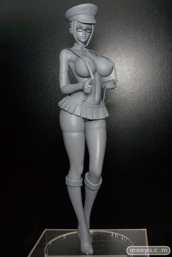 スカイチューブの監獄学園 白木芽衣子の新作フィギュア無彩色サンプル画像01
