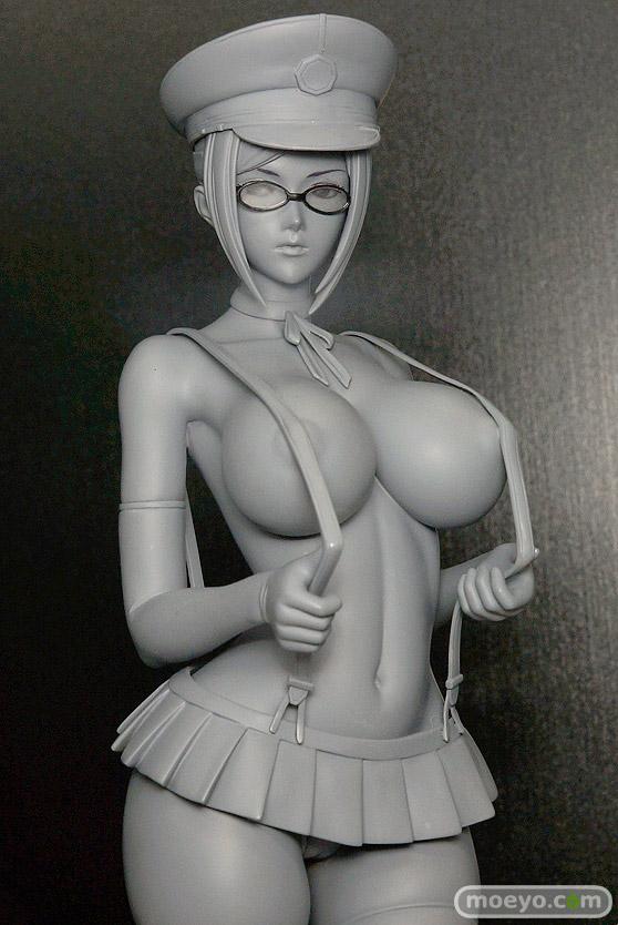 スカイチューブの監獄学園 白木芽衣子の新作フィギュア無彩色サンプル画像04