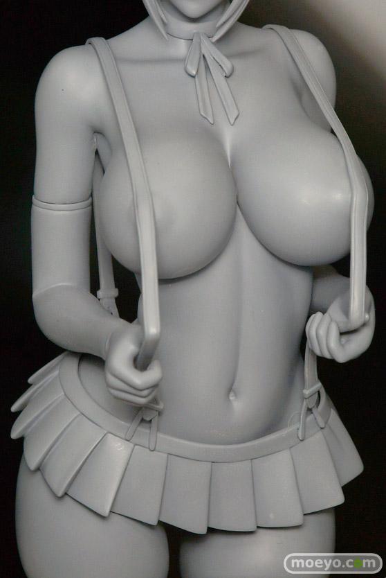 スカイチューブの監獄学園 白木芽衣子の新作フィギュア無彩色サンプル画像06