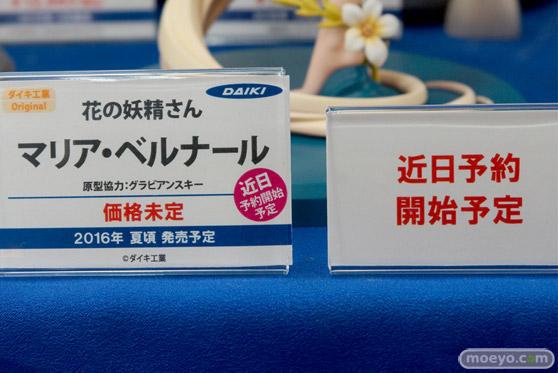 秋葉原での新作フィギュア展示の様子 花の妖精さん マリア・ベルナール 05