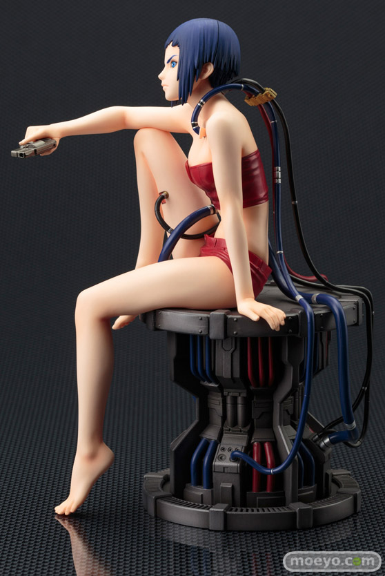 コトブキヤの新作フィギュアのARTFX J 攻殻機動隊 ARISE 草薙素子の彩色サンプル画像03