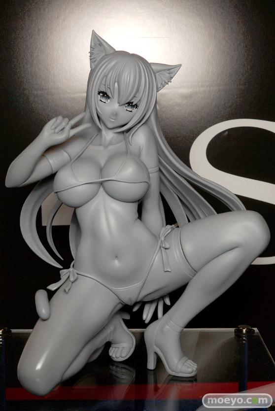 Q-sixの仮)ヒョウ柄ビキニちゃんの新作フィギュア原型サンプル画像01