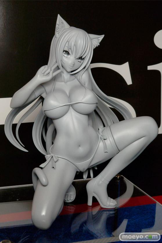 Q-sixの仮)ヒョウ柄ビキニちゃんの新作フィギュア原型サンプル画像02
