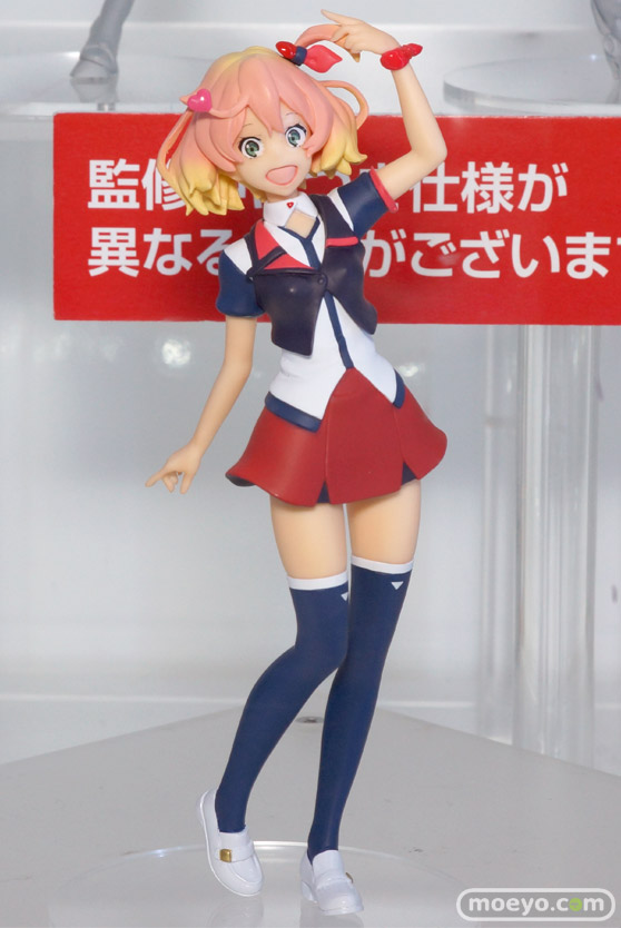 アニメジャパン2016のバンプレストブースの新作プライズフィギュア画像 艦これ マクロスΔ キスショット07