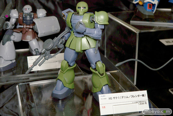 宮沢模型 第37回 商売繁盛セールのメガハウスとバンダイとバンプレストの新作フィギュア展示の様子28